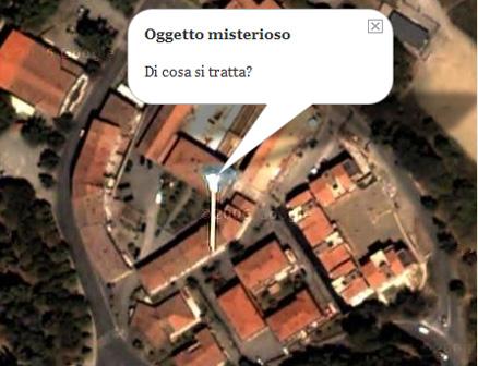 Oggetto Misterioso su Google Maps