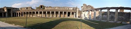 Mappe storiche - scavi di pompei